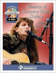 Classics of Country Blues Guitar: By Rory Block Level 4 * Includes Tab [With 6 CD's]