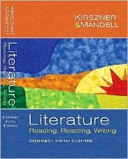 Literature: Reading, Reacting, Writing, Compact Edition [With CDROM]