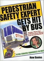 Pedestrian Safety Expert Gets Hit By Bus