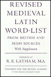 Revised Medieval Latin Word-List from British and Irish Sources