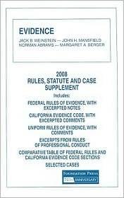 Evidence by Jack B. Weinstein