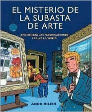 El Misterio de La Subasta de Arte [With Magnifier]