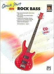 Quick Start Rock Bass: Book & CD