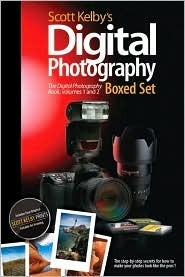 Scott Kelby's Digital Photography Set: The Digital Photography Book, Volumes 1 and 2