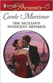 The Sicilian's Innocent Mistress (Sicilian Gambrellis' Saga, #3)