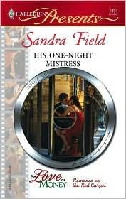 His One-Night Mistress by Sandra Field