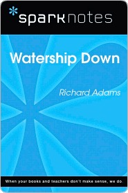 Watership Down (SparkNotes Literature Guide Series)