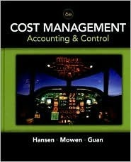 Cost Management: Accounting & Control