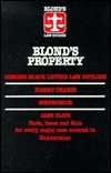 Blond's Property: Concise Black Letter Law Outline