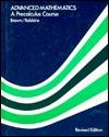Advanced Mathematics: A Precalculus Cours (1984-1986)