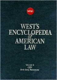 West's Encyclopedia of American Law