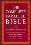 Holy Bible: Complete Parallel Bible with the Apocryphal/Deuterocanonical Books: New Revised Standard Version BL Revised English Bible BL New American Bible BL New Jerusalem Bible
