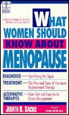 What Women Should Know About Menopause (The Dell Medical Library)