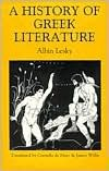 A History of Greek Literature by Albin Lesky