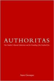 Authoritas by Aaron Greenspan