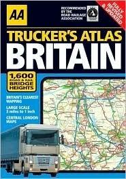 AA Trucker's Atlas: Britain