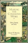 Making the Commons Work