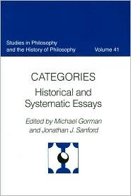 Catagories Historical and Systematic Essays
