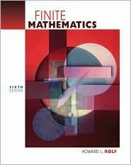 Finite Mathematics [With CD-ROM]