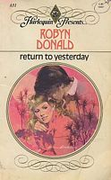Return to Yesterday by Robyn Donald