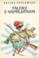 Talerz z Napoleonem I. Róża
