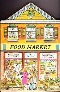 Food Market by Peter Spier