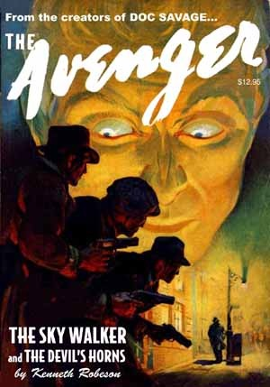 The avenger vol. 2: the sky walker & the devil's horns by Kenneth Robeson