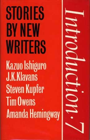 Introduction Seven: Stories by New Writers