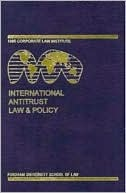 International Antitrust Law and Policy