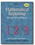Mathematical Reasoning Through Verbal Analysis (Mathematical Reasoning Grades 4 - 8)