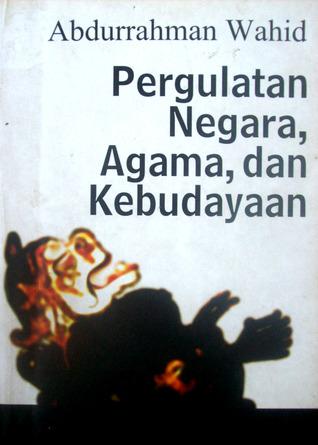 Hasil gambar untuk buku pergulatan negara agama dan kebudayaan