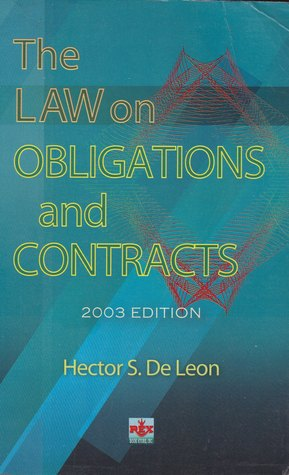 obligation and contracts by hector de leon pdf