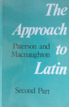 Approach to Latin Part II by James Paterson