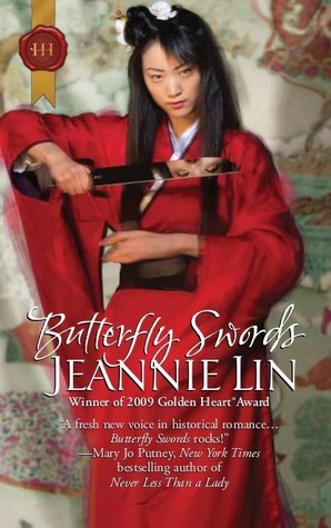Cover of Butterfly Swords by Jeannie Lin c/o Harlequin