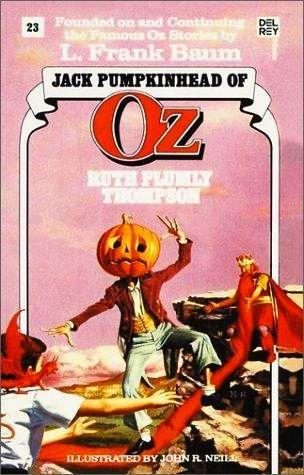 Jack Pumpkinhead of Oz (Book 23)