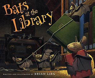 Book Review: Brian Lies' Bats in the Library