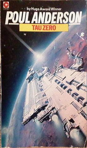 Cover, Tau Zero by Poul Anderson (Goodreads)
