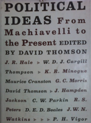 Political Ideas: From Machiavelli to the Present