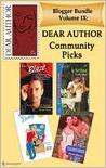 Dear Author Community Picks (Blogger Bundle #9)