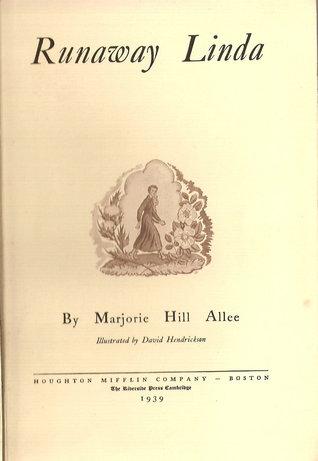 Runaway Linda by Marjorie Hill Allee