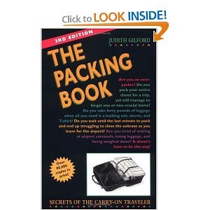 The Packing Book by Judith Gilford