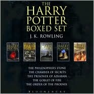 Ebook Harry Potter Adult Boxed Set (Harry Potter, #1-5) by J.K. Rowling DOC!