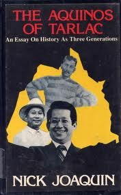 the aquinos of tarlac an essay on history as three generations by 8203543