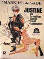 Justine eli hyveellisen neidon kovat kokemukset