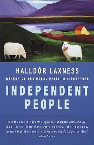 Independent People by Halldór Laxness