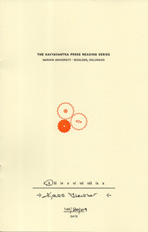 The Kavyayantra Press Reading Series by Kass Fleisher