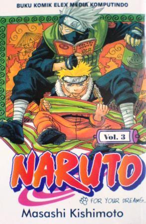 Naruto Vol. 3: For Your Dreams...!!