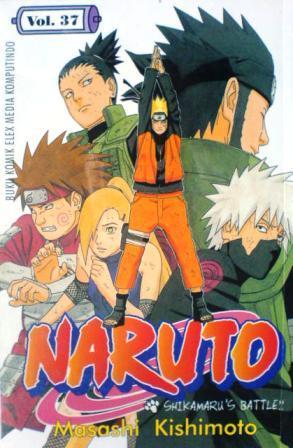 Naruto vol. 37: shikamaru's battle by Masashi Kishimoto