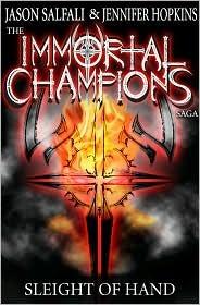 Sleight of Hand (The Immortal Champions Saga #1)
