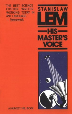 Ebook His Master's Voice by Stanisław Lem read!